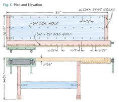 DIY Master Cabinetmaker's Bench Plans: Make a WorkBench