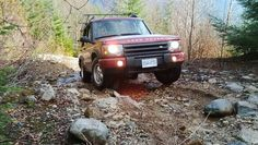 Land Rover Discovery II en route to Kenyon lake - RoverLanders BC