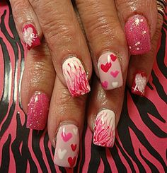 A Little Love by dcgroves from Nail Art Gallery