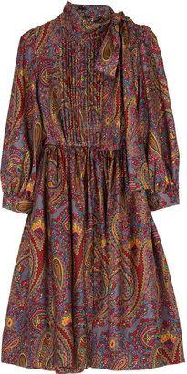 ShopStyle: DKNY Nathalia paisley dress