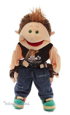 Living Puppets handpop Larry - Handpoppen.nl