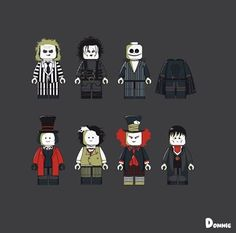 Check out this awesome artwork! Tim Burton's Legocy by @donnie_art  So good!!