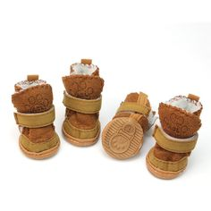 Tzou Puppy Cotton Blend Winter Snow Warm Walking Boots, Small, Khaki, *** More info could be found at the image url. (This is an affiliate link and I receive a commission for the sales) Pet Dogs, Dogs And Puppies, Doggies, Puppy Shoes, Winter Schnee, Dog Boots, Rain Boots, Dog Diapers, Walking Boots