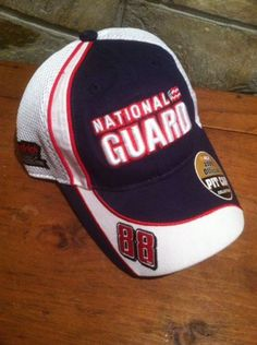 Hendrick Motorsports National Guard Dale Earnhardt Jr. Pit Crew Hat Nascar NWT