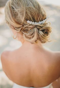 Wedding Hair Accessories: Beaded and Crystal Bridal Hair Clip | Brides.com