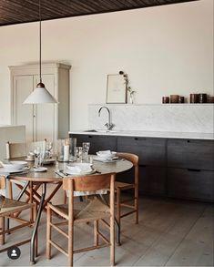Interior Desing, Interior Design Kitchen, Interior Design Inspiration, Interior Decorating, Kitchen Dinning, Dining Area, Kitchen Collection, Küchen Design, Home Kitchens