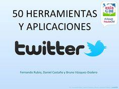 50-herramientas-twitter-clase6 by Fernando Ahumada via Slideshare
