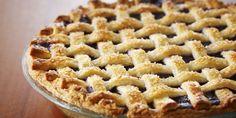 Blueberry Lattice Top Pie