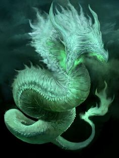 This is a sea serpent. (I think) And while they aren't dragons, they are cousins.