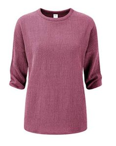 fa1039248a5 Cotton Traders Travel Top Soft Claret Size UK 18 rrp 25 DH180 OO 05 #fashion