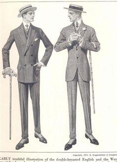 guide to men's evening wear (English) Victorian Gentleman, Victorian Men, Victorian Era Fashion, Vintage Pants, Vintage Outfits, Mens Evening Wear, 80s Fashion Men, Dapper Gentleman, Silhouette