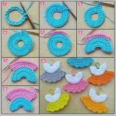 nose shaping for amigurumi crochet doll faceAmigurumi princess making amigurumitarifleri inch Kelly doll crocheted white dress with crochet miniature flowers and beaded embroidery.How to crochet a beautiful tiny dress. Crochet Bookmark Pattern, Crochet Bookmarks, Crochet Motif, Crochet Stitches, Crochet Patterns, Ravelry Crochet, Knitting Dolls Clothes, Crochet Doll Clothes, Crochet Crafts