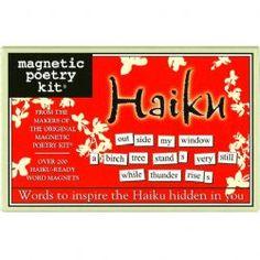 Magnetic Poetry - Haiku Edition