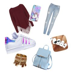 """Untitled #1"" by smitjuultje ❤ liked on Polyvore featuring Boris and adidas"
