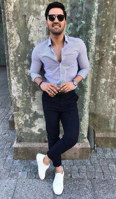 Semi formal outfit attire for men
