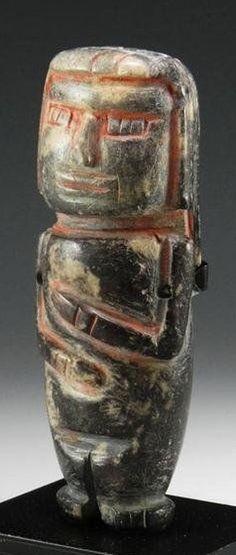 Pre-Columbian, Chavin, northern Peru, Ca 700 to 400 BC.