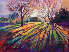 Hanson, Erin - Crystal Light #abstract, #design, #painting, #color, #landscape