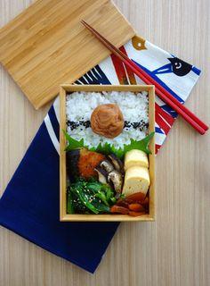 R journal: ブリの塩焼き弁当・Grilled buri bento