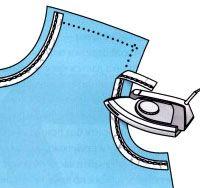 Обработка горловины и пройм изделия | | pokroyka.ru-уроки кроя и шитья