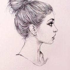 профиль девушка рисунок: 16 тыс изображений найдено в Яндекс.Картинках