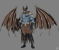 Demon Knight Demon Form commission by phil-cho.deviantart.com on @DeviantArt