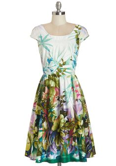 Magnificent Meadow Dress | Mod Retro Vintage Dresses | ModCloth.com