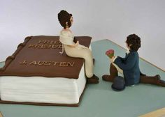 Resultado de imagen de pride and prejudice cake