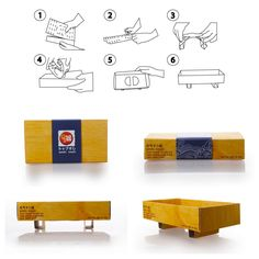 Packaging of the World: Creative Package Design Archive and Gallery: Genki Sushi Take Away (Student Project)