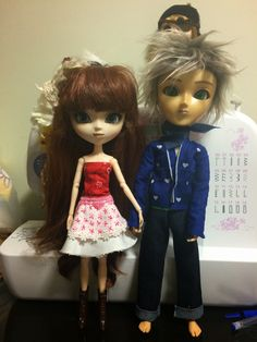 Pullip doll: A pair of Namus By Mes Crazy Experiences