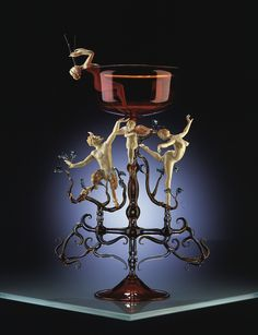 """Lucio Bubacco   """"lume"""" technique, inspired by Greek, Roman and Byzantine classic art, by medieval and renaissance theater and by """"La Commedia dell'Arte. His masterpieces are crafted in Murano glass"""