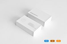 7 Clean Minimal Business Cards - Business Cards - 2