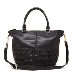 Sole Society Dolores Large Vegan Satchel from Sole Society