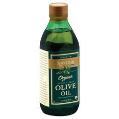 Spectrum Naturals Organic Unrefined Extra Virgin Olive Oil - Case of 6 - 12.7 Fl oz.