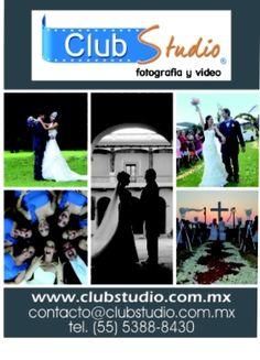 Los mejores fotógrafos profesionales para que las fotos y el video de tu fiesta sea inolvidable. Tel: 55-53-88-84-30 contacto@clubstudio.com.mx