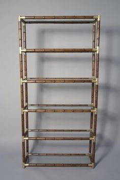 bamboo t connector shelf