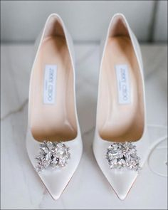 Jimmy Choo bridal shoe ✨✨