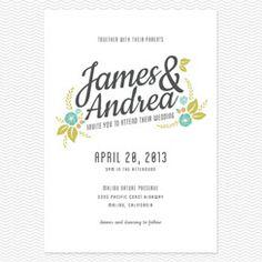 Unique, Modern and Vintage Wedding Invitations | Love vs Design