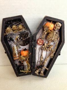 Canadian Nickel Scrap'n: Apothecary Curiosities Coffin