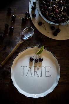 Cherry and Amaretto Tart