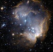 Sternhaufen, Galaxie, Sterne, Ngc 602