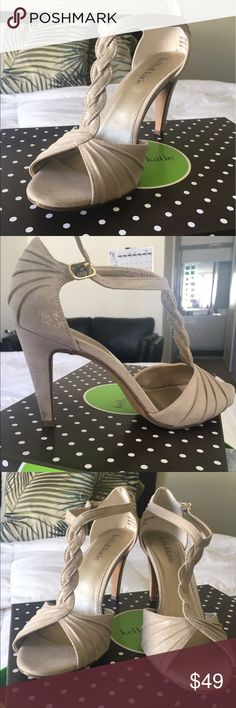 Kelly & Katie Christa Sandal ✨BRAND NEW ITEM!!! 🔥✨ Worn only ONCE to my best friends wedding. Not even broken in yet. You'll love them. Great for weddings, dinner dates, day to day business/work wear. Even a night out with your girls. Thank me later. Make an offer. ✨ Kelly & Katie Shoes Heels