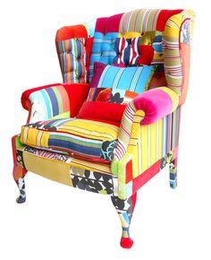 The Peebles Armchair - Turned Stripes