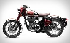 """Royal Enfield (Indian!!) Classic 500...Ever since I saw """"The Curious Case of Benjamin Button"""", I've wanted an indian or any type of vintage bike."""