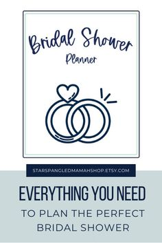 Are you planning a Bridal Shower?! How exciting!! This Complete Bridal Shower Printable Planner is just the perfect thing for you! Bridal Shower Planner, Bridal Shower Checklist, Bridal Shower Games, Wedding Planner, Plan My Wedding, Wedding Tips, Diy Wedding, Printable Planner, Printables