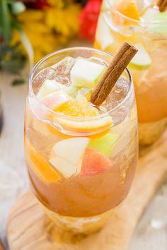 Hard Apple Cider Sangria - Sugar & Soul