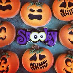 Halloween Wishes, Halloween Sweets, Halloween Cakes, Crispy Cookies, Sugar Cookies, Halloween Cookies Decorated, Kinds Of Cookies, Fall Cookies, Dessert Recipes