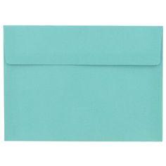 Wedding invite envelopes - the Paper Studio A7 Turquoise Envelopes | Shop Hobby Lobby