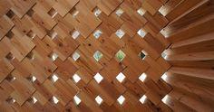 """La casa del Té """"Art Tababe"""" es un proyecto diseñado por estudiantes de la Universidad de Tokyo presentado para la edición de """"Living Art""""..."""