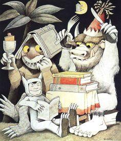 Donde viven los monstruos es un libro infantil creado por Maurice Sendak. El libro fue escrito en 1963, siendo condecorado con la Medalla Caldercott en 1964. También ganó el Boston Globe-Horn Book Award y fue un libro notable de la ALA