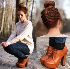 Www.Fleq.Pl Shoes, Http://Www.Sheinside.Com/Beige Long Sleeve Asymmetrical Pullovers Sweater P 101635 Cat 1734.Html Sweater